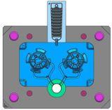 литье под давлением Two-Plate приспособления для теплоотвода с вентилятором Ligthing-W