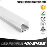 Extrusion en aluminium pendante linéaire d'aluminium de profil de la lumière DEL de 4243 DEL