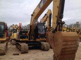 Excavatrice utilisée de tracteur à chenilles de l'excavatrice 323D2 de chenille de chat