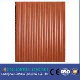 Los paneles de pared decorativos 3D, el panel de pared de madera moderno de los estilos 3D