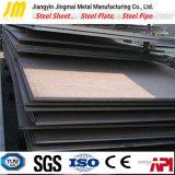 Placa de acero al carbono de acero suave en el inventario de materiales de construcción