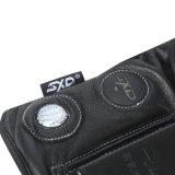 黒いカラーカーボンファイバーのE手袋