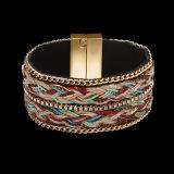 Bijou multicolore d'incinération de bracelet d'alliage de mode en gros