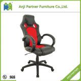 Orange Höhen-Rückseiten-Schwenker-Leder PU-ergonomischer laufender Büro-Stuhl (Agatha)