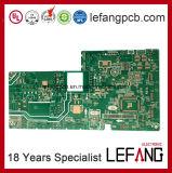 Doppelseitige Fr4 Leiterplatte gedruckte Schaltkarte zur Industrie-Steuerung