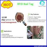 Tk4100 Clavo RFID etiqueta para el seguimiento de activos y gestión de la madera