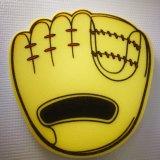 エヴァの泡の手によって形づけられるスポンジ指またはプリントロゴのスポンジ手
