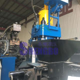 De hydraulische het Vegen van het Aluminium Machine van de Briket met Vierkant Blok