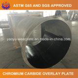 Plaque de recouvrement de carbure de chrome pour la plaque de garniture de câble d'alimentation