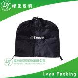 Sacchetti antipolvere personalizzati del vestito del coperchio dell'indumento dei vestiti di qualità di stampa con una casella