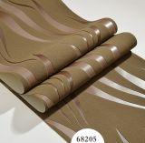 Papel de empapelar de la piel de ciervo, Wallcovering, decoración de la pared, tela de la pared del PVC, hoja del suelo del PVC, papel pintado de la piel de ciervo del PVC 3D