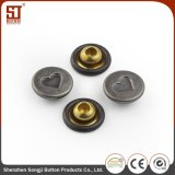 Кнопка кнопки рубашки металла Monocolor вспомогательного оборудования способа изготовленный на заказ индивидуальная