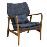 Marco de madera material de la tela de la silla del restaurante para la cena del salón del café