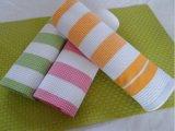 (BC-KT1020)高品質の縞のふきんの台所タオルを熱販売しなさい