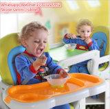 어린이 식사용 의자를 접혀 플라스틱 휴대용 공급 아기