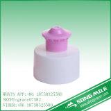 28mm pp. Brown eindeutige kosmetische Plastikschutzkappe für Karosserien-Milch