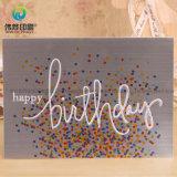 Custom nueva llegada la impresión de tarjetas de cumpleaños