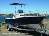 Bateaux de pêche de fibre de verre de bateau de Panga de fibre de verre de Liya 19FT à vendre