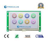 module du TFT LCD 4.3 '' 480*272 avec l'écran tactile de Rtp/P-Cap pour la machine de café