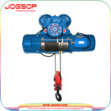 Élévateur mécanique d'élévateur de câble métallique de moteur électrique de 5 tonnes avec l'élévateur