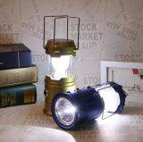 2018Hot Sale de grande taille Camping solaire rechargeable Lampe LED5900 &lanterne de Camping