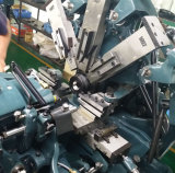 Macchina utensile elaborante automatica manuale del tornio e del grado