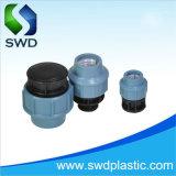 Los racores de acoplamiento de la compresión de PP para la conexión del tubo de PVC de HDPE PN10