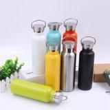 750ml el acero inoxidable de un sólo recinto BPA libera la botella de agua (SH-ST04)