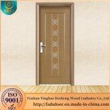 La sculpture en bois artisanal Desheng Rinçage de la conception de la porte prix net