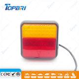 Lampe rouge d'inverse d'arrière d'arrêt d'indicateur de camion de camion du jaune DEL