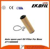 De auto Filter van de Olie van het Vervangstuk voor Benz 2711800009