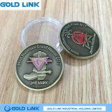 挑戦硬貨のカスタム金属の硬貨の記念品の昇進のギフト