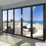 Portello di piegatura di alluminio di vetro del prodotto del doppio caldo principale di vendita per stanza di vetro