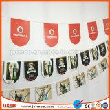 Diseño libre de forma personalizada PVC Bunting pabellón para la publicidad de eventos