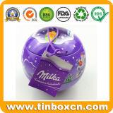 Коробка олова шарика венчания для конфеты шоколада масла какао