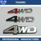 Emblema plástico de la etiqueta del coche de la etiqueta engomada de la carta 3D del ABS