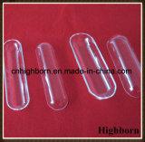 Vidro de quartzo de sílica clara de polimento de barco para Fornecedor de fusão