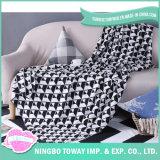 純粋な綿は赤ん坊によって重くされた空気調節毛布を編んだ