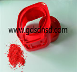 Forte concentration de granules de plastique de Masterbatch de couleur rouge de colorant