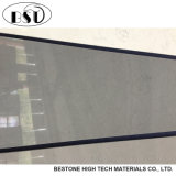 霧深い灰色の大理石の見る設計された水晶台所カウンタートップ