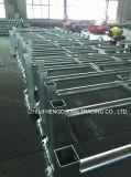 Bastidor de transportador de rodillos de acero
