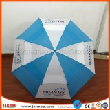 La publicité en ligne droite de la promotion Parapluie de golf