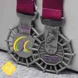 Prix de gros d'usine de l'émail doux Cheap Médaille des sports en alliage de zinc