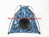 Het nieuwe Waterdichte Huis van het Huisdier paste het Blauwe Huis van de Kat van het Kussen van het Huisdier aan