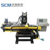 Cnc-gemeinsame Platten-lochende Maschine für Winkel-Aufsatz-Industrie