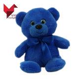 Het vette Reuze Mooie Blauwe Stuk speelgoed van de Pluche van de Teddybeer van de Kleur