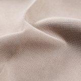 Diseño de lino de la tela del nuevo color 2018 para la cubierta del sofá