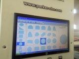 自動CNCのガラス打抜き機のガラス切断表