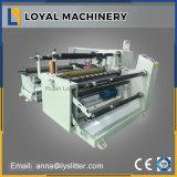 Papierrollenautomatische aufschlitzende Zeile Maschinen-Slitter Rewinder