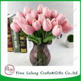 La rentabilidad de la flor artificial simulación populares tulipanes plantas Fake Flowers Wholesale